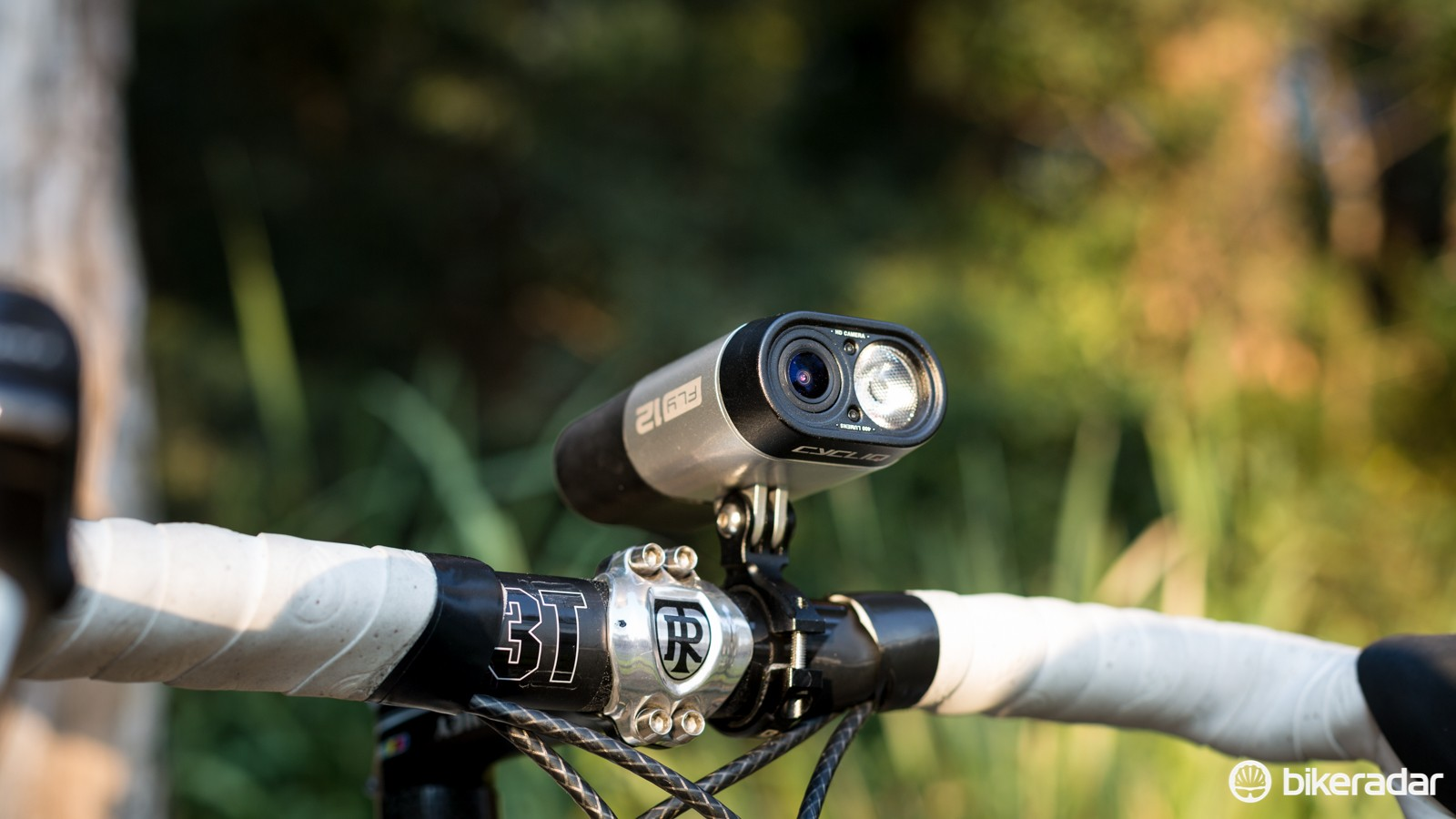 The Fly12 combines a 400 lumen front light with a full HD 1080p camera into a single unit