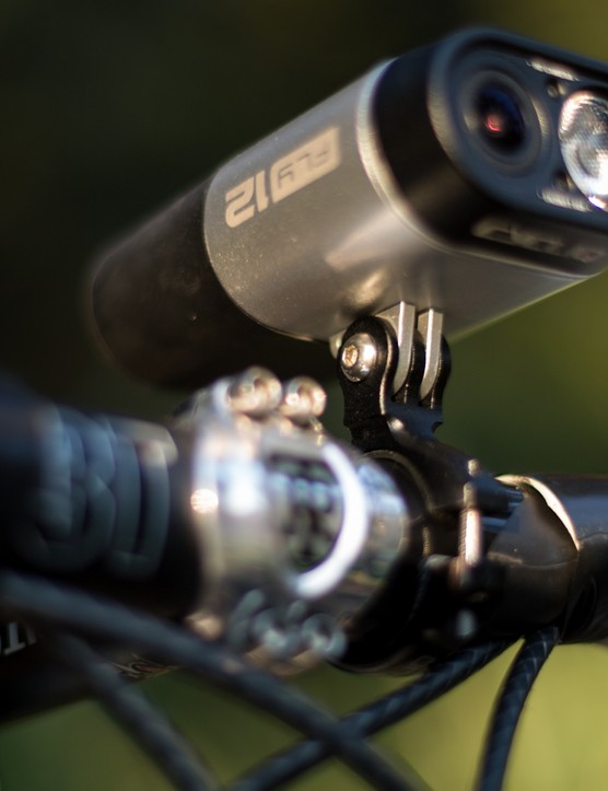 Cycliq has opted to use a GoPro style mounting system, meaning it's likely compatible with mounts you may already own