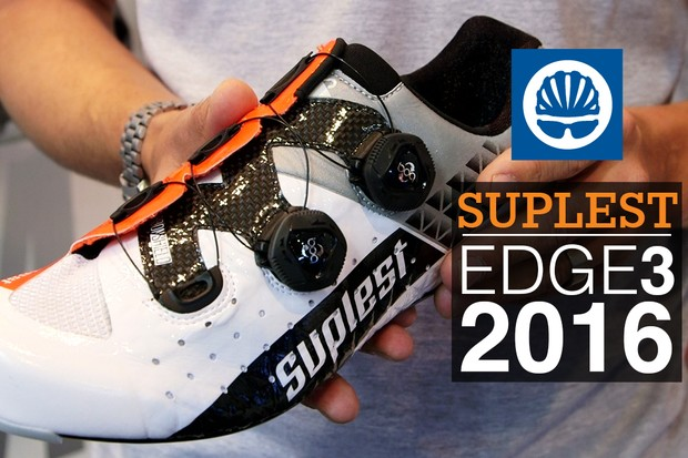Suplest's new Edge 3 shoes