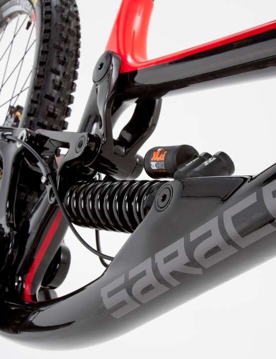 A new shock position means room for the latest generation of large volume air shocks