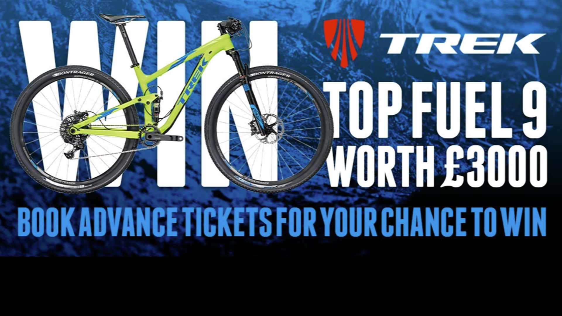 Win a £3,000 Trek Top Fuel 9 with The Cycle Show