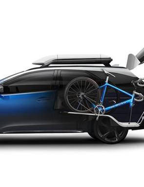 The Civic Tourer Active Life concept would make an ideal team car
