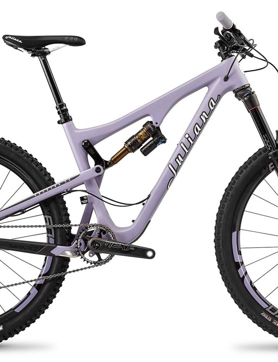 The Juliana Roubion, as ridden by the Juliana-SRAM Pro Team in the Enduro World Series