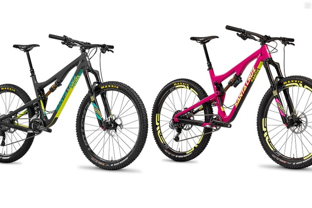 Santa Cruz has redesigned the 5010 and Bronson, making them longer and slacker, and added internal cable routing and a redesigned VPP linkage