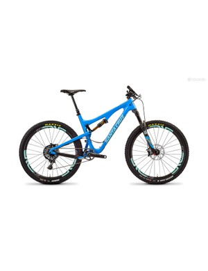 The 5010 now sports 130mm of rear travel