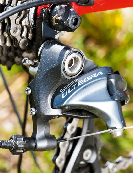 Shimano's Ultegra does its usual sterling work. 'Nuff said