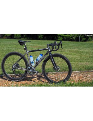 My choice for the 'Baller's Ride' was a custom Seven Evergreen Pro, built with true Paris-Roubaix-like geometry for a fast, fun, and versatile machine