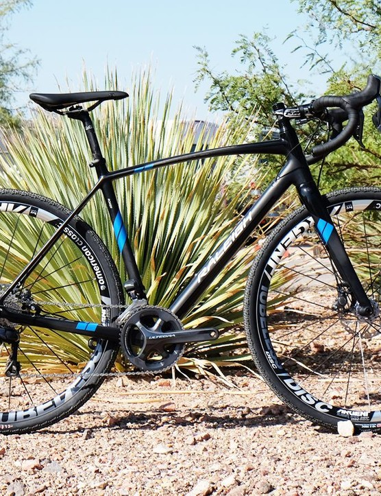The Roker is Raleigh's first carbon bike designed for gravel riding
