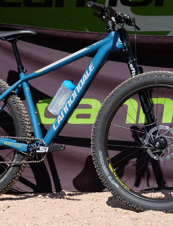 Cannondale's Beast of the East has been reborn as a 27.5+ trail hardtail