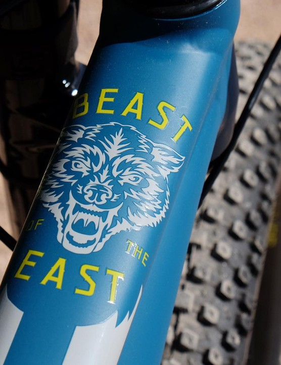 The original Beast of the East had a 26in front wheel, a 24in rear wheel and an ultra-high bottom bracket. Version 2.0 is a much more modern and refined creature
