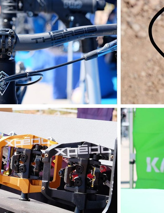 Here's a look at some of the latest gear on display at Interbike's Outdoor Demo