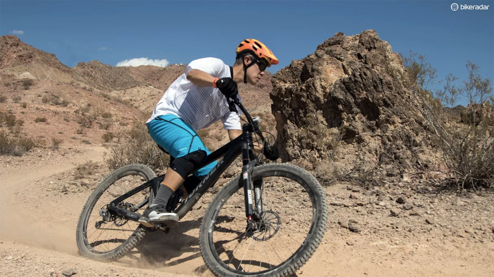 An hour and a half is hardly sufficient time to draw long-term conclusions about a bike but it doesn't take long to extract the personality of Turner's new RFX enduro machine - particularly on the demanding terrain of Nevada's Bootleg Canyon