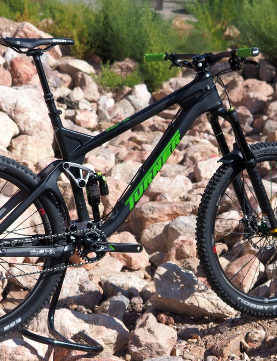 Turner dives deeper into carbon fiber with the all-new 160mm-travel RFX enduro machine