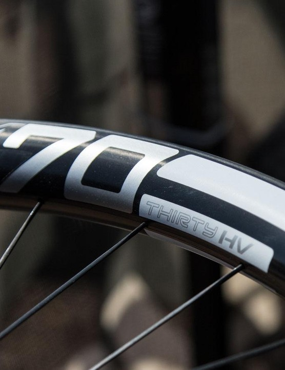 Enve now offers 'High Volume' versions of its M60 and M70 rims for those looking to use the new wave of more voluminous 2.3-2.5in tyres