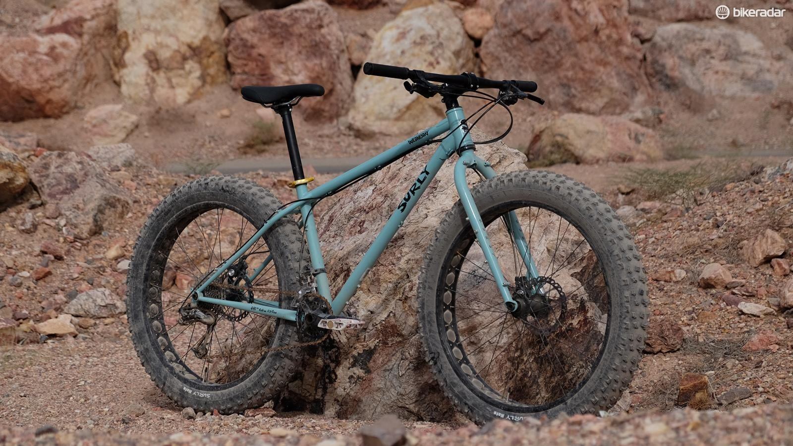The Wednesday is Surly's fourth fat bike model