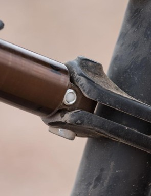 Why isn't this more common? Pivot have found a rather clever way to attach the shock eyelet