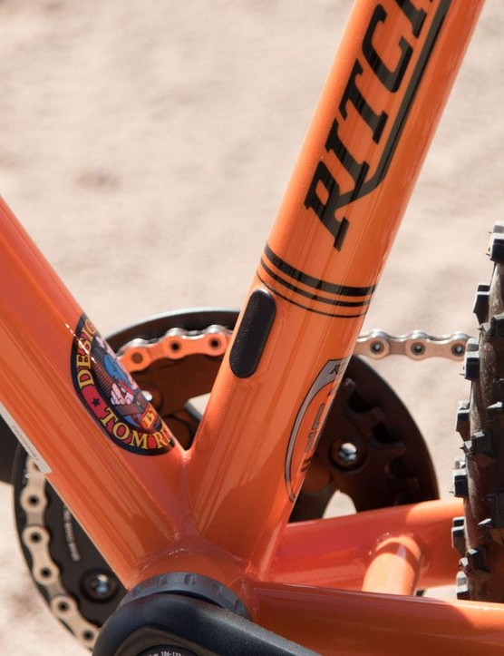 Something different for a steel hardtail, the TimberWolf offers stealth dropper seatpost compatability