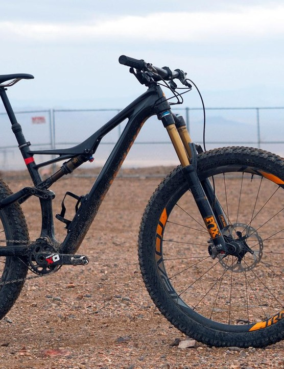 Specialized's S-Works Stumpjumper 6Fattie – in the words of our tester,