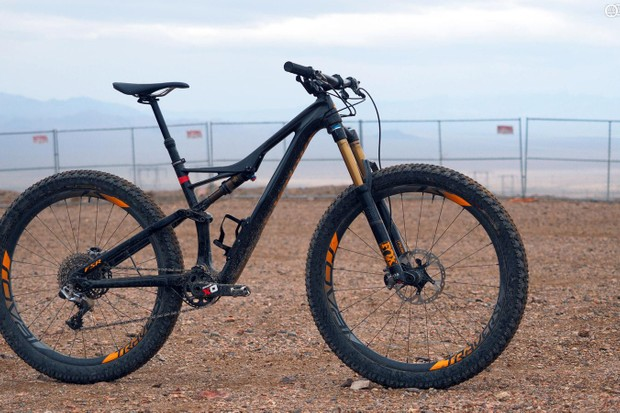 "Specialized's S-Works Stumpjumper 6Fattie – in the words of our tester, ""Holy cow, that thing is fun!"""