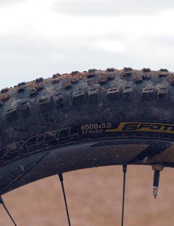 The Ground Control 6Fattie tires yield surprisingly low rolling resistance