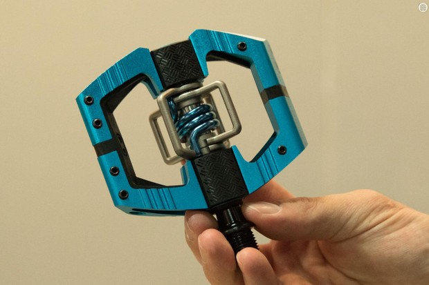 With all new internals, every Crankbrothers' pedal is new for 2016. However, the Mallet E is one of the wholly new models