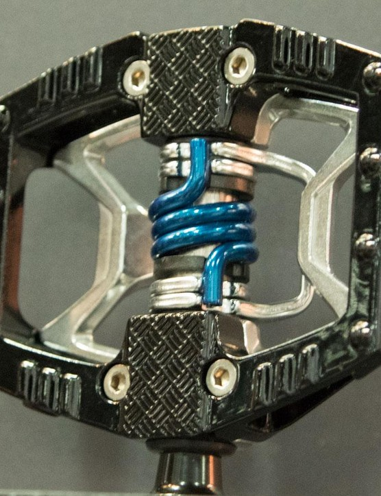 The Double Shot is Crankbrothers' first 'hybrid' pedal