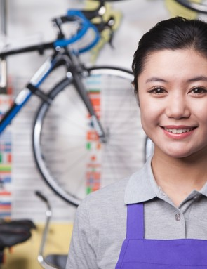 Women working in bike shops may still be rare, but numbers are growing