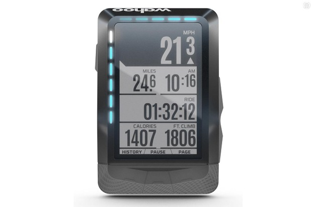 The forthcoming Wahoo Elemnt adds LED indicators to GPS functionality