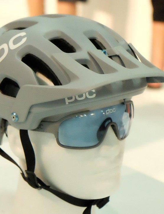 POC claims the Tectal is better ventilated and lighter than the Trabec