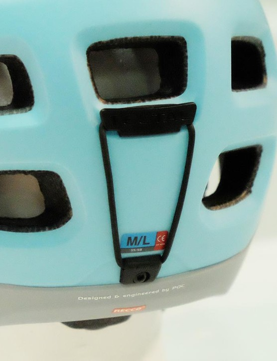 The Tectal Race has a goggle strap so you can go full enduro