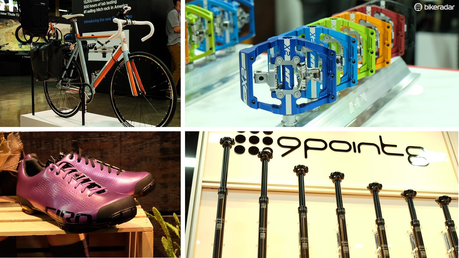 Here's a look at some of the new and interesting gear on display inside Interbike's halls