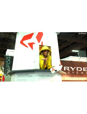 Ryders Eyewear always has an entertaining booth, errr lighthouse