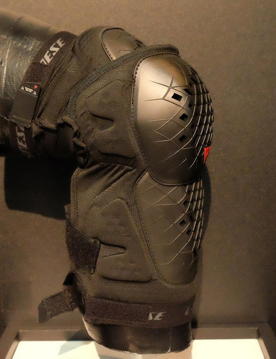 The new ArmoForm knee pads from Dianese blend hardshell protection with mobility