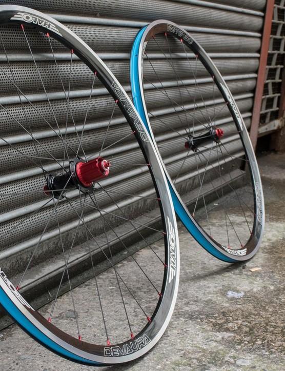 Halo Devaura wheelset