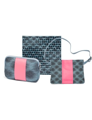 The Rapha + Liberty collection includes a special edition silk scarf, musette and essentials case