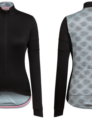 The Long Sleeved Jersey features a reflective version of the Rapha + Liberty print on the back