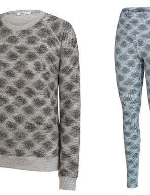 In the City range, both the Leggings and Merino Sweatshirt feature the limited edition print