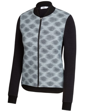The City Bomber has a windproof front to protect the wearer from chill breezes