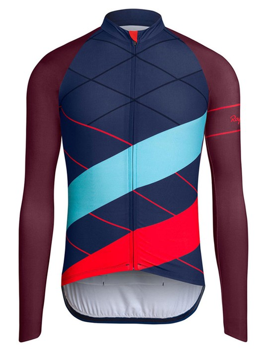 We're curious to see how the padded shoulders on the Long Sleeve Cross Jersey hold up