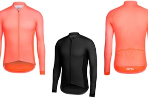 The Long Sleeve Pro Team Aero Jersey is slightly heavier weight than the short sleeve version