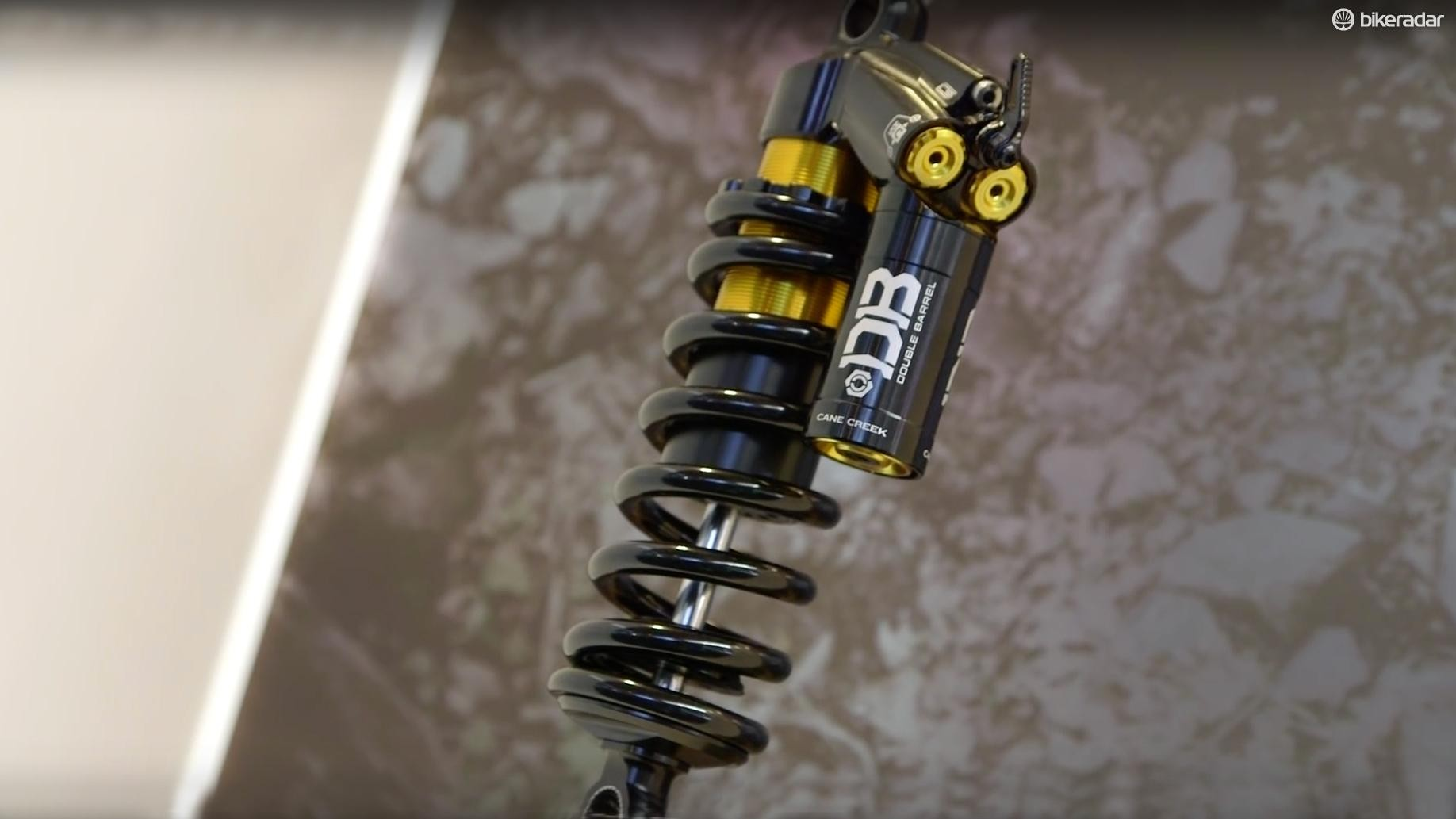 The new DB Coil CS shock from Cane Creek
