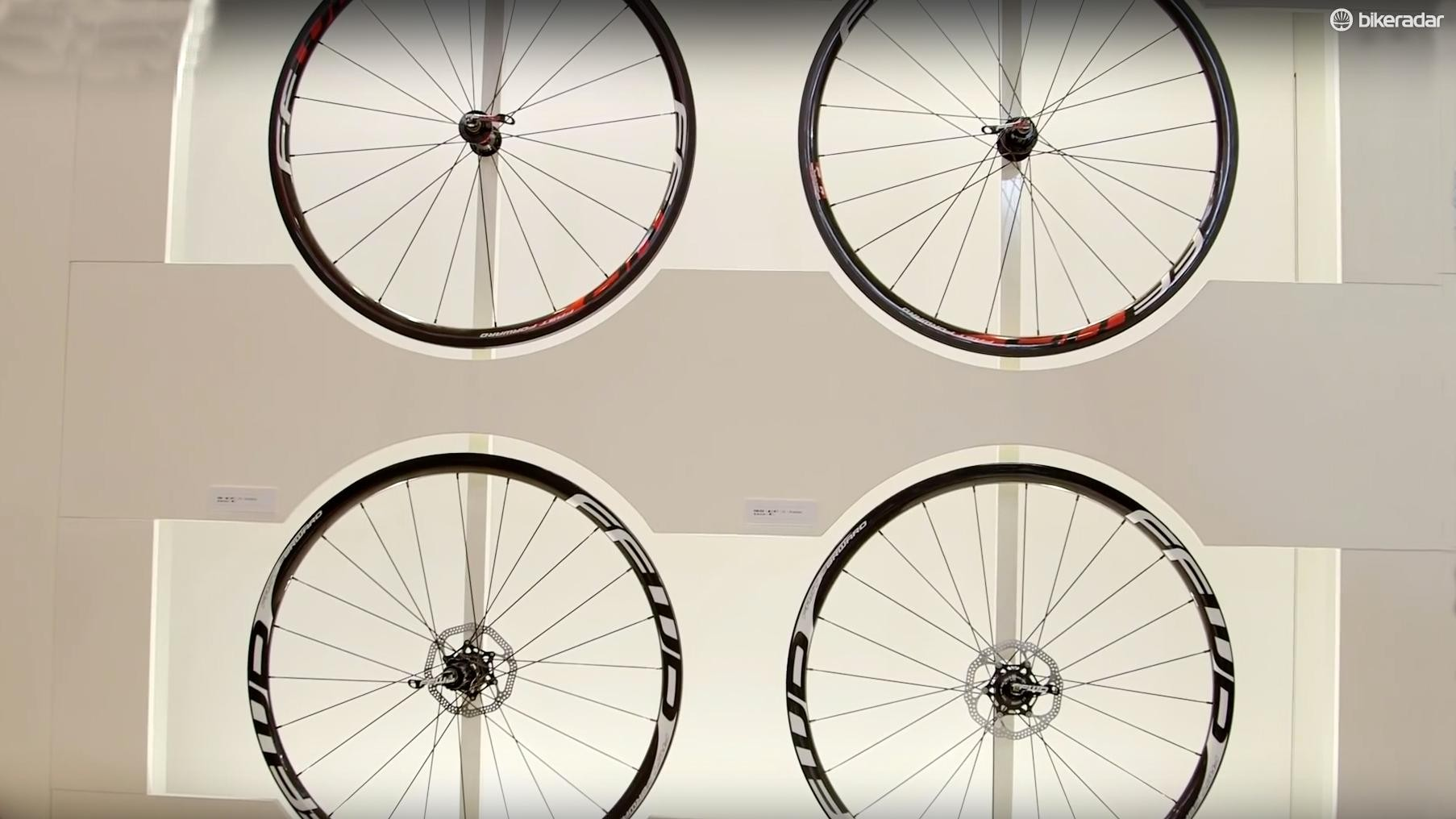 Fast Forward release disc brake ready wheels for 2016