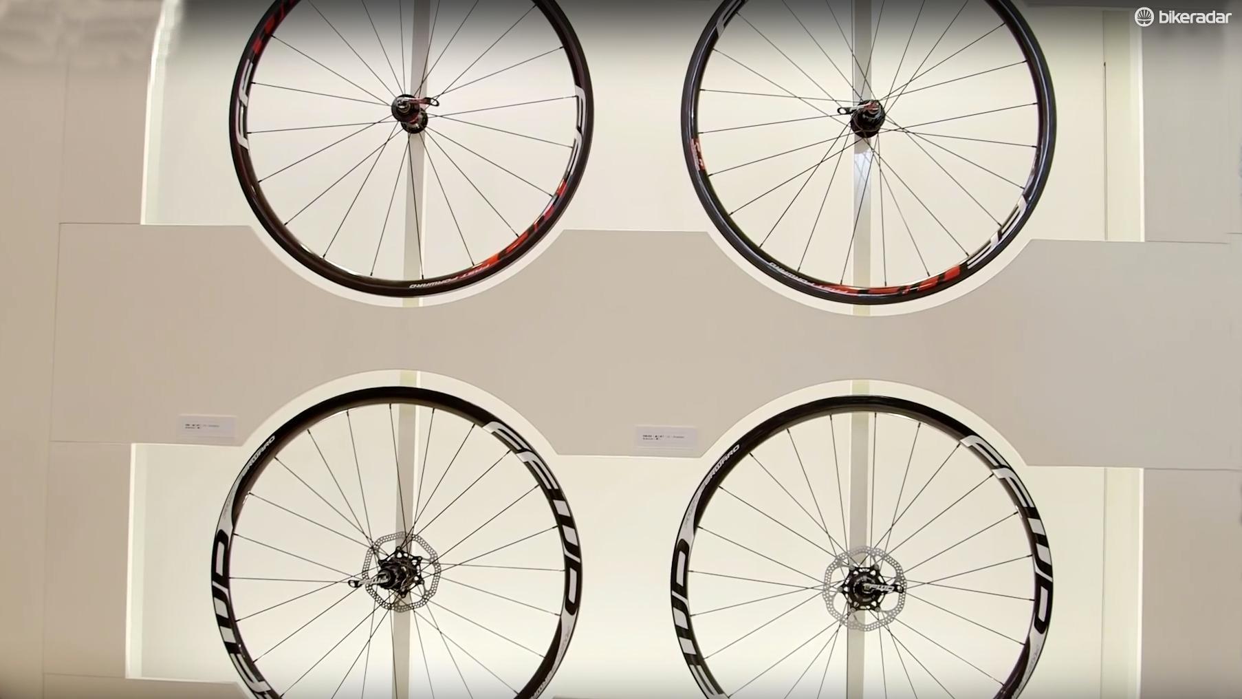Fast Forward release disc brake ready wheels for 2016
