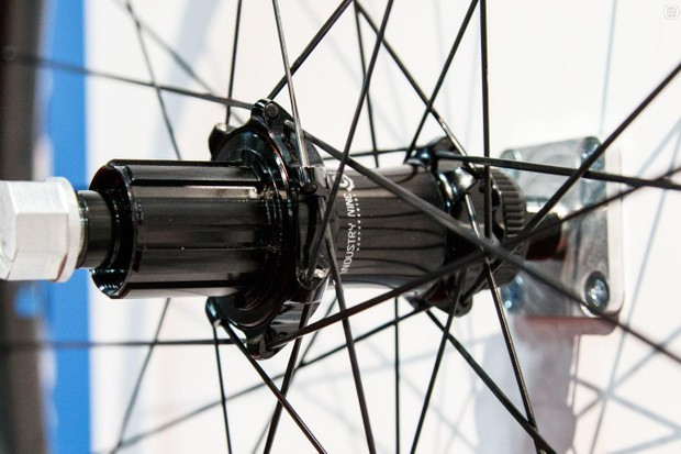 First realesed in 2014 with DT Swiss hubs, Reynolds' top tier Black Label wheels with new rims will now feature US-made Industry Nine hubs