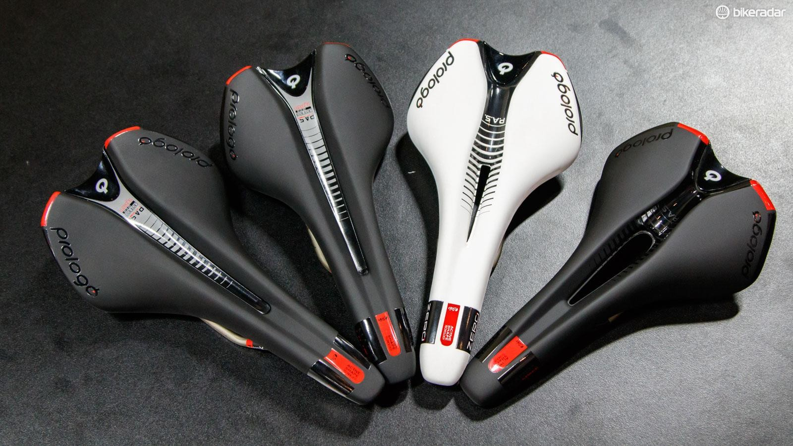 Prologo's new 'SPACE' saddle range is pitched as a 'uni-sex' option for those seeking a wider, more comfortable perch