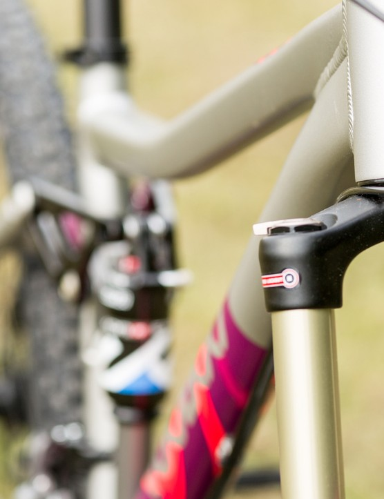 The VooDoo Maji is unusual in that there aren't many women's specific full suspension mountain bikes available at this price point