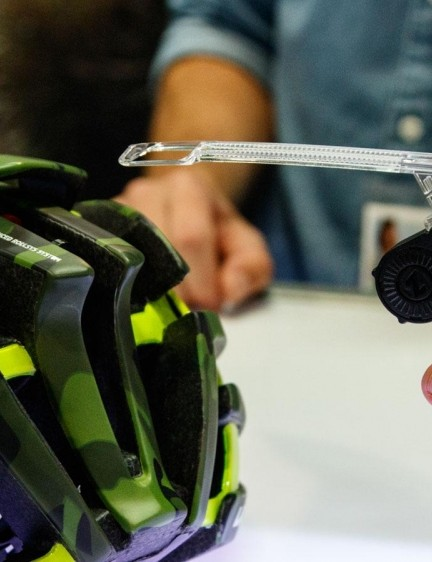 Lazer Z1 helmet owners can now upgrade their helmets with this US$24 'Z1 LED Mudcap' safety light. It simply clips in place instead of the stock Rollsys plastic cover