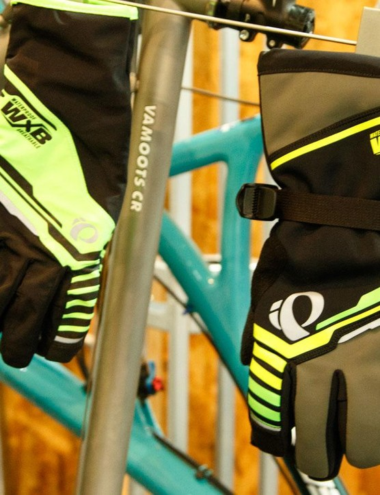 Not just for jackets and jerseys, BioViz technology will be found on Pearl Izumi's riding accesories too
