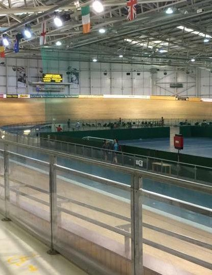 The Newport Velodrome, Wales