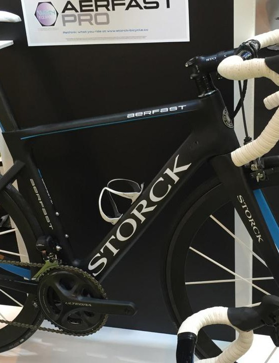 The Storck Aerfast is one of two new women's specific, or 'women's equipped', bikes